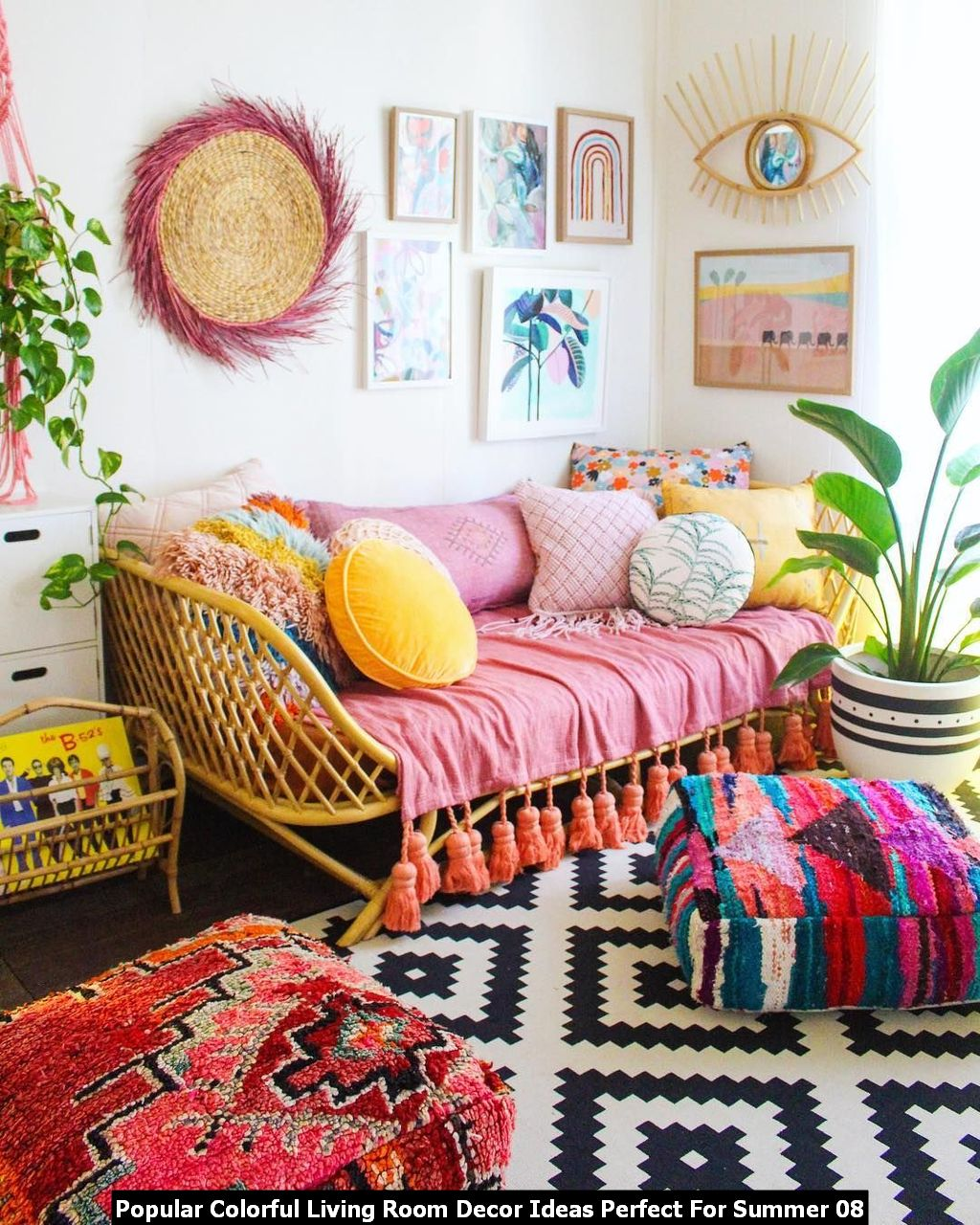 Popular Colorful Living Room Decor Ideas Perfect For Summer 08