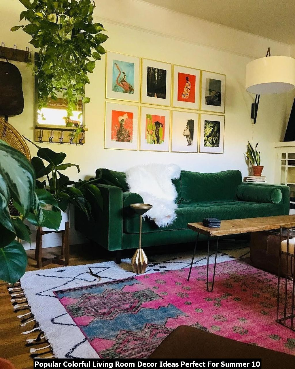 Popular Colorful Living Room Decor Ideas Perfect For Summer 10