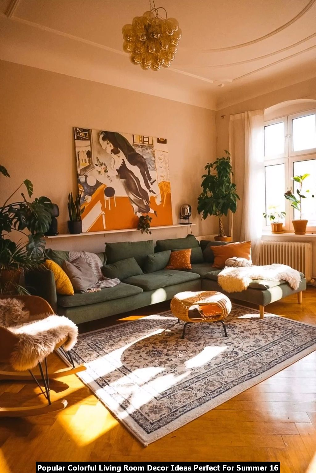 Popular Colorful Living Room Decor Ideas Perfect For Summer 16