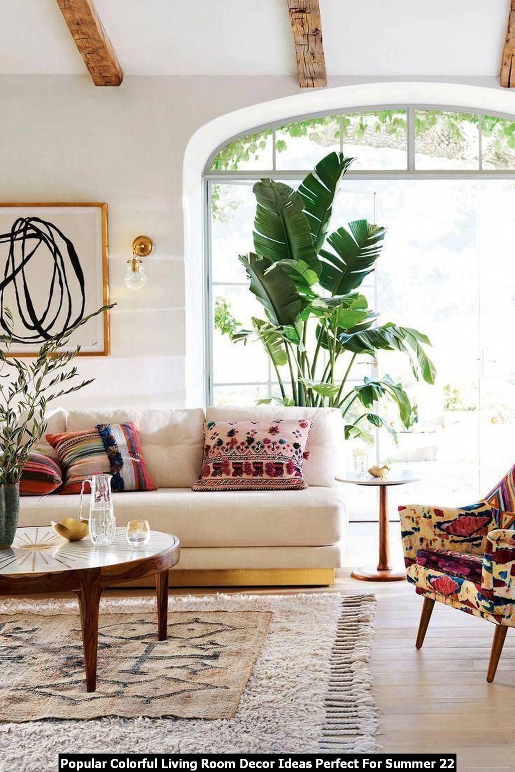 Popular Colorful Living Room Decor Ideas Perfect For Summer 22