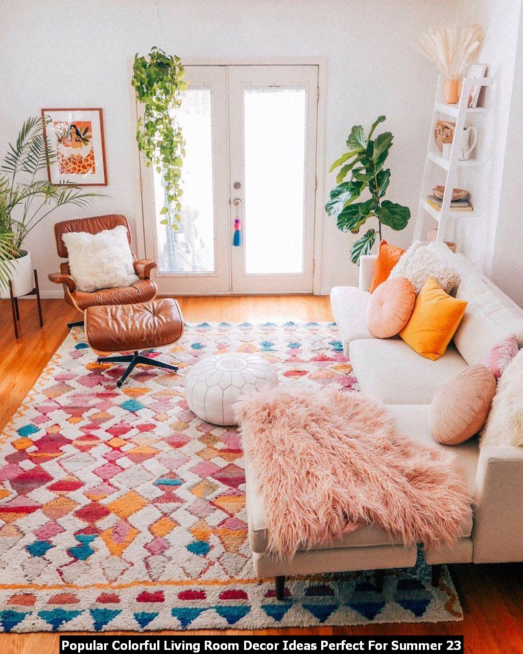 Popular Colorful Living Room Decor Ideas Perfect For Summer 23