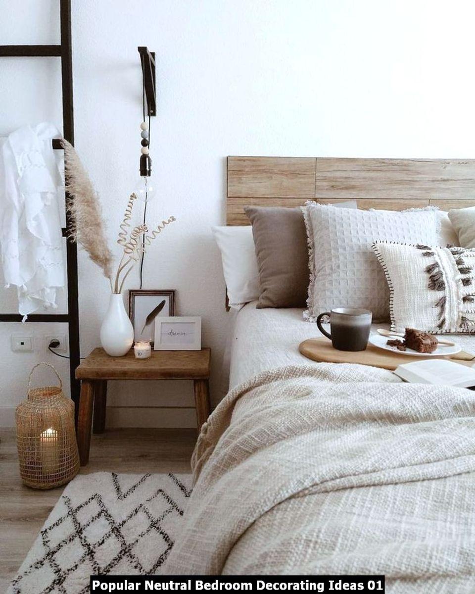 Popular Neutral Bedroom Decorating Ideas 01