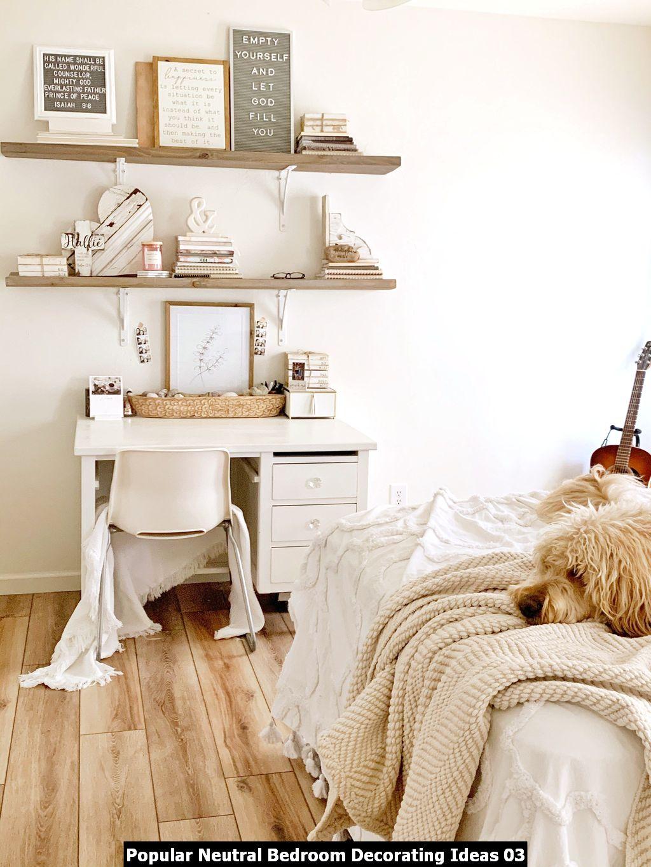 Popular Neutral Bedroom Decorating Ideas 03