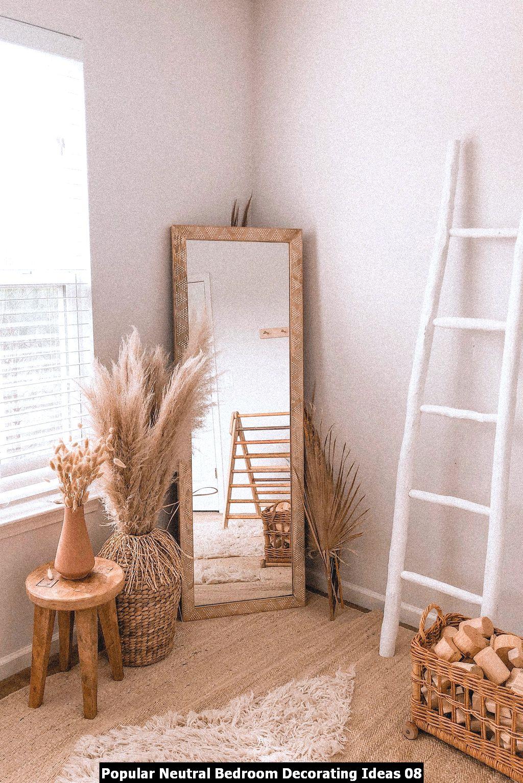Popular Neutral Bedroom Decorating Ideas 08