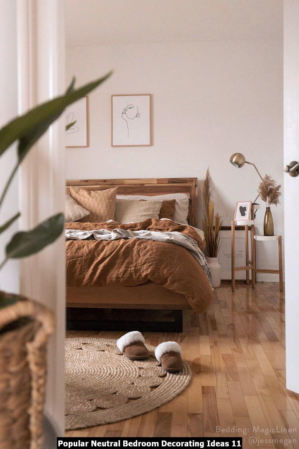 Popular Neutral Bedroom Decorating Ideas 11