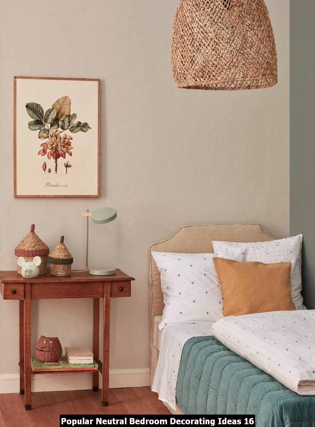 Popular Neutral Bedroom Decorating Ideas 16