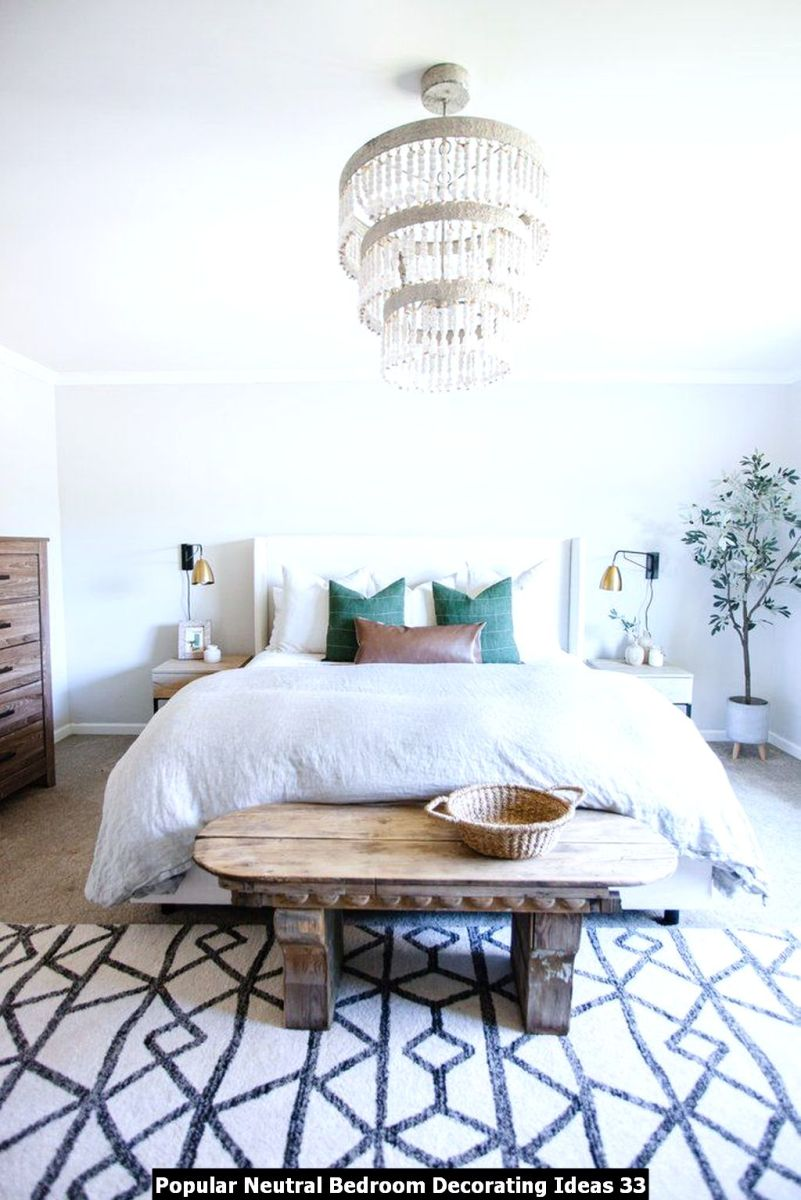 Popular Neutral Bedroom Decorating Ideas 33