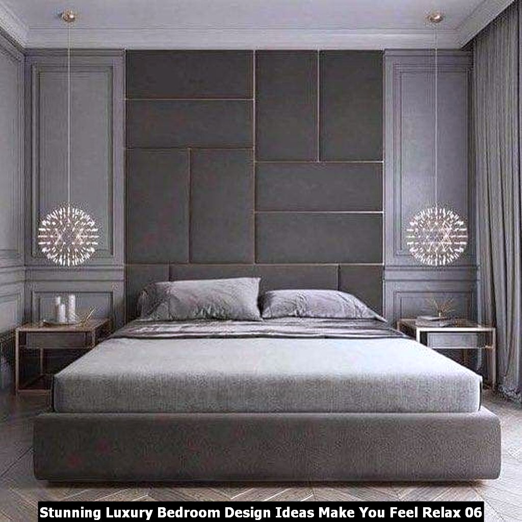 Stunning Luxury Bedroom Design Ideas Make You Feel Relax 06