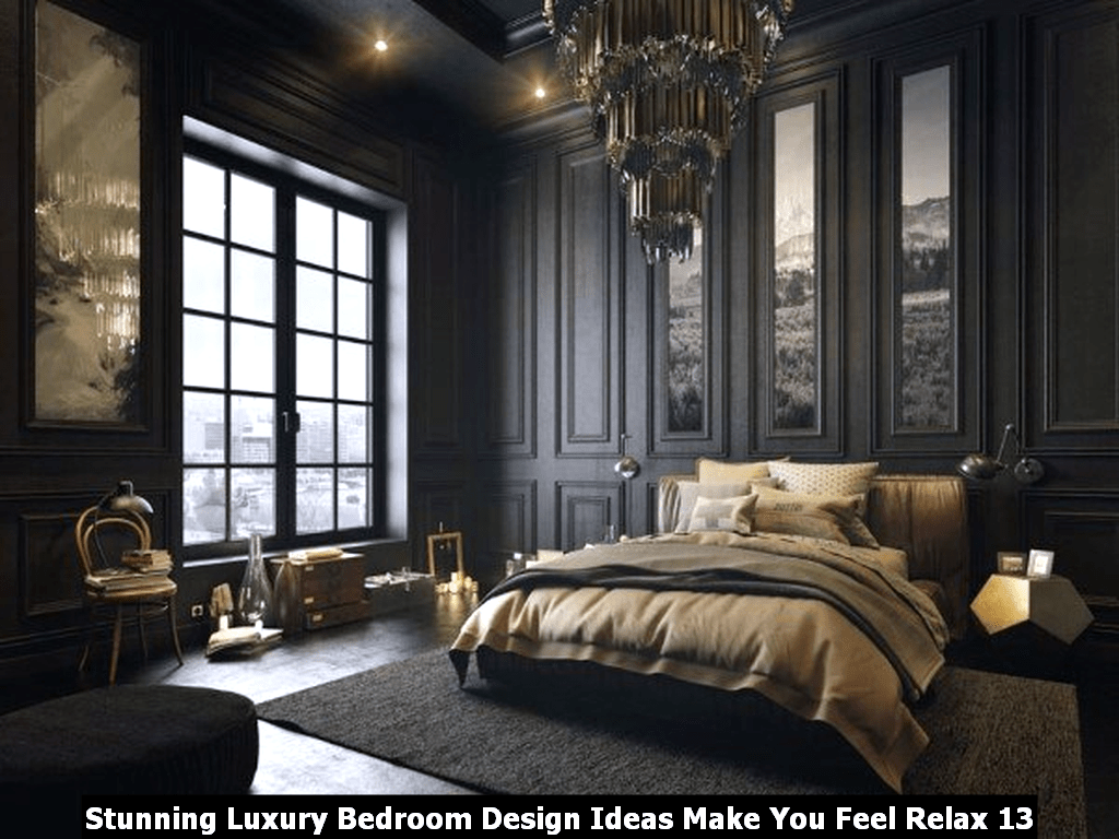 Stunning Luxury Bedroom Design Ideas Make You Feel Relax 13