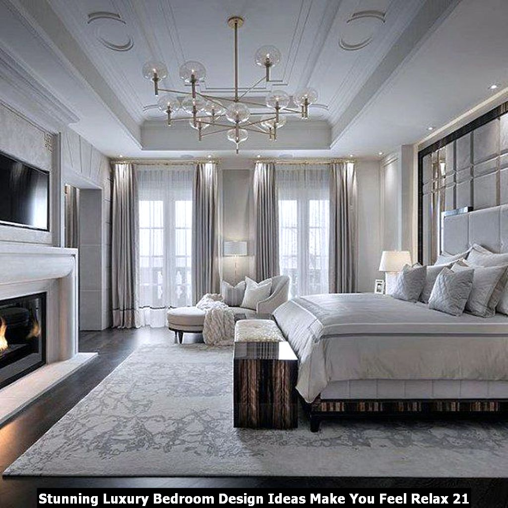 Stunning Luxury Bedroom Design Ideas Make You Feel Relax 21