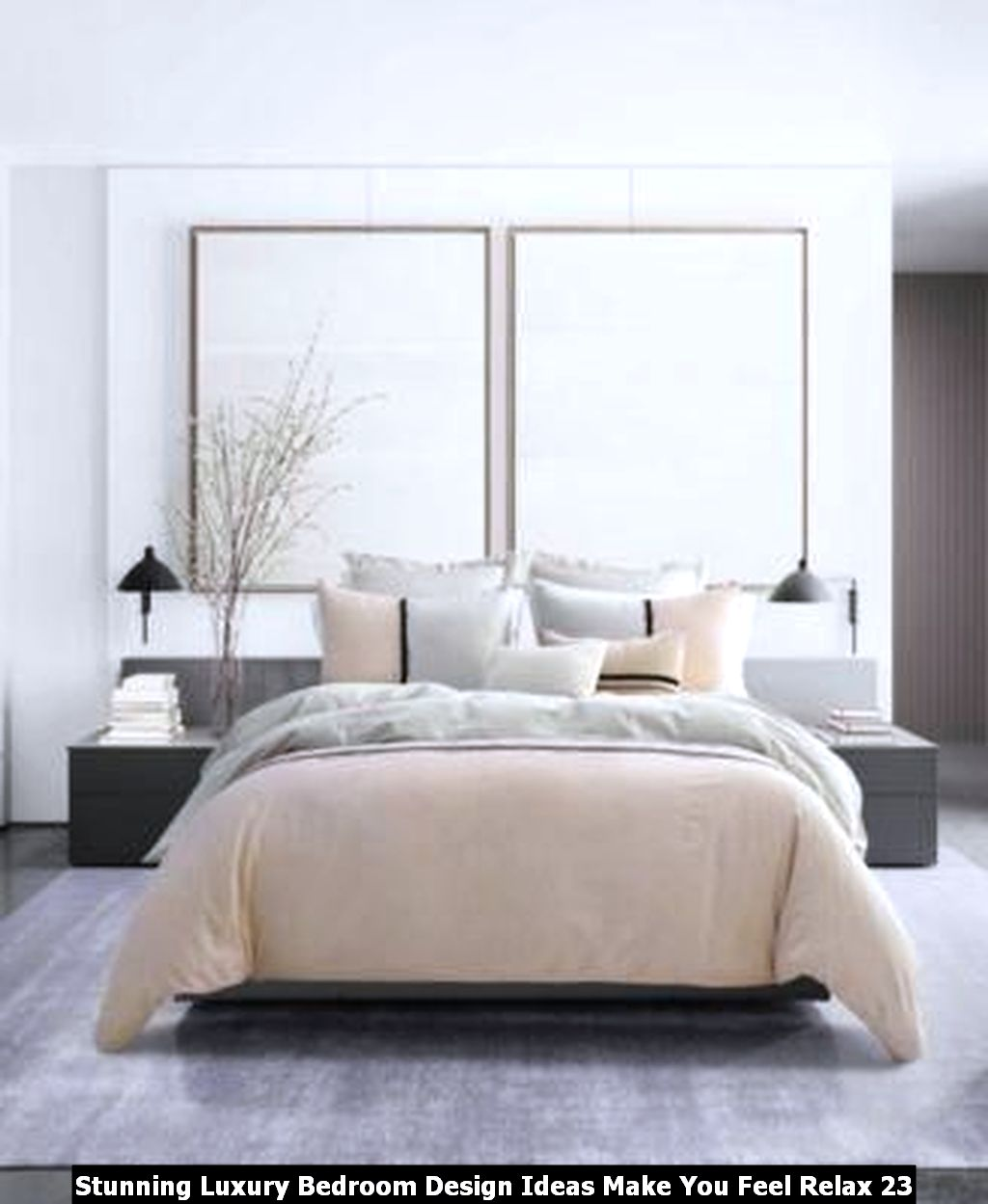 Stunning Luxury Bedroom Design Ideas Make You Feel Relax 23