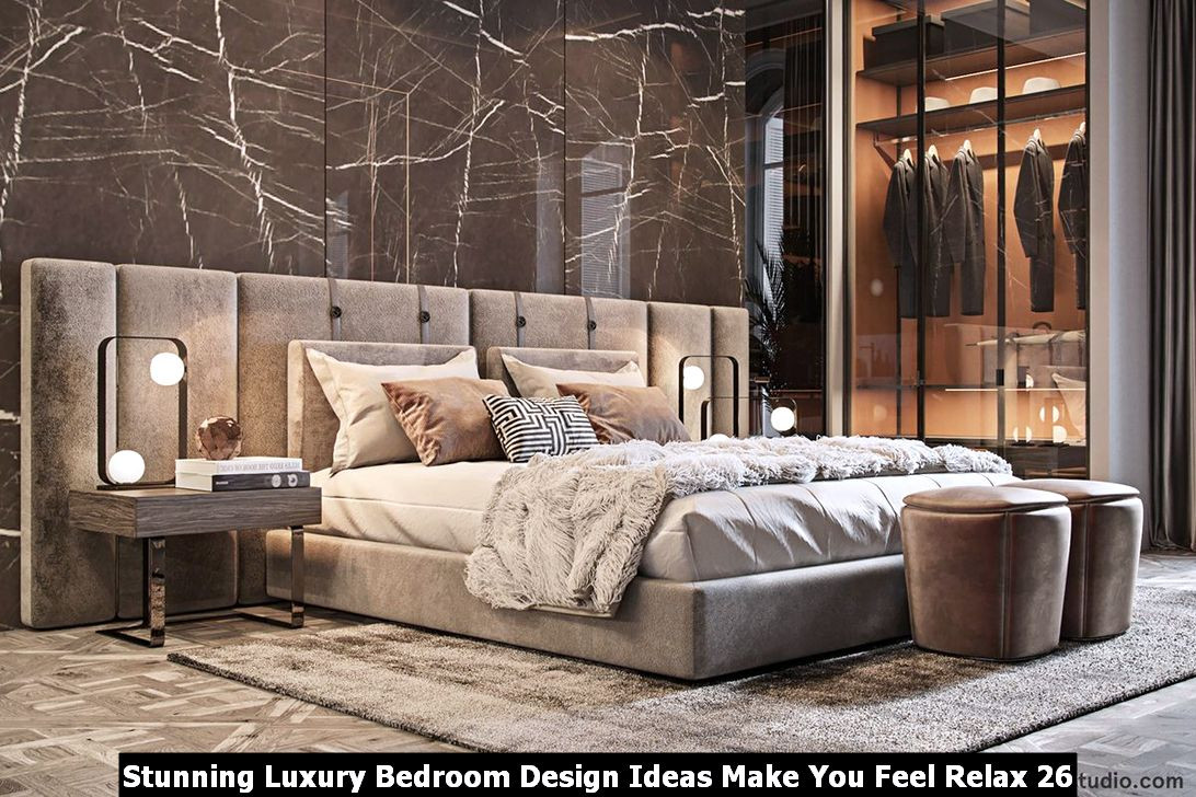Stunning Luxury Bedroom Design Ideas Make You Feel Relax 26
