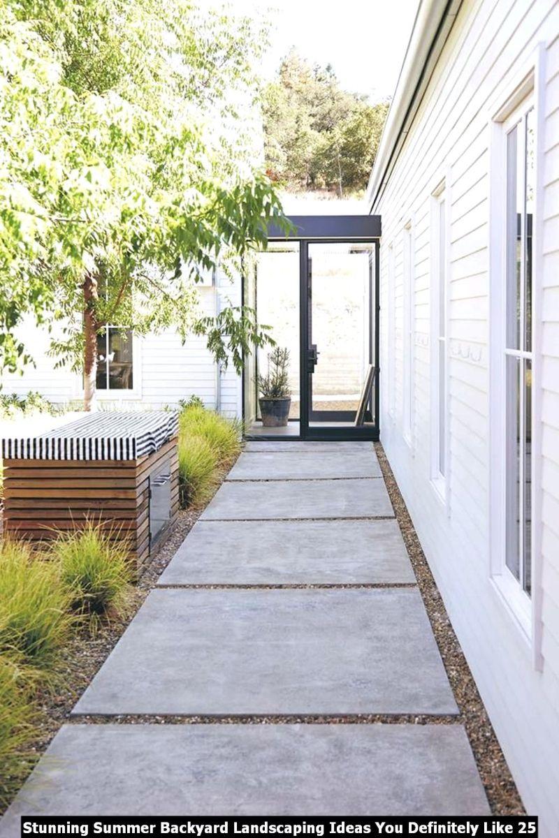 Stunning Summer Backyard Landscaping Ideas You Definitely Like 25