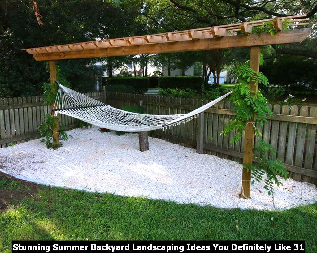 Stunning Summer Backyard Landscaping Ideas You Definitely Like 31