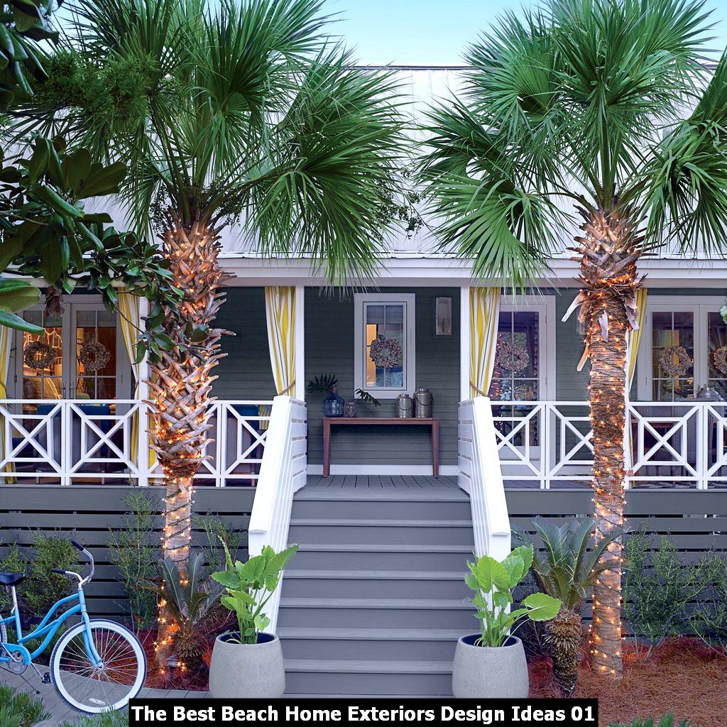 The Best Beach Home Exteriors Design Ideas 01
