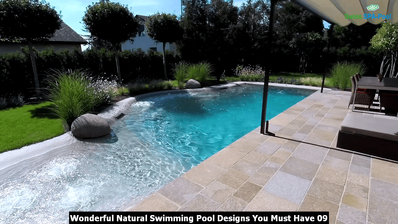 Wonderful Natural Swimming Pool Designs You Must Have 09