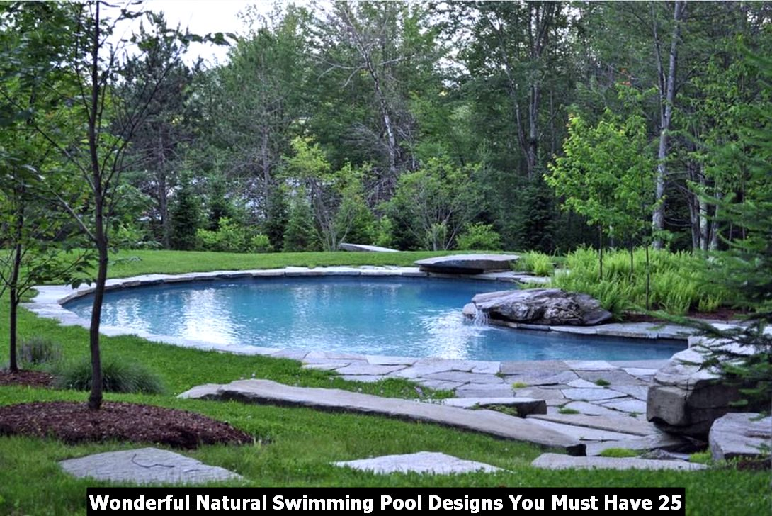 Wonderful Natural Swimming Pool Designs You Must Have 25