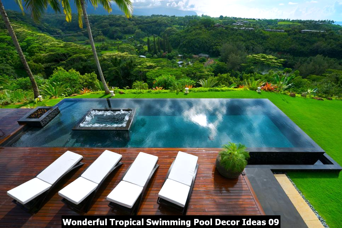 Wonderful Tropical Swimming Pool Decor Ideas 09