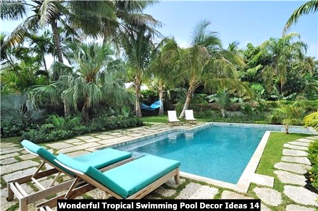 Wonderful Tropical Swimming Pool Decor Ideas 14
