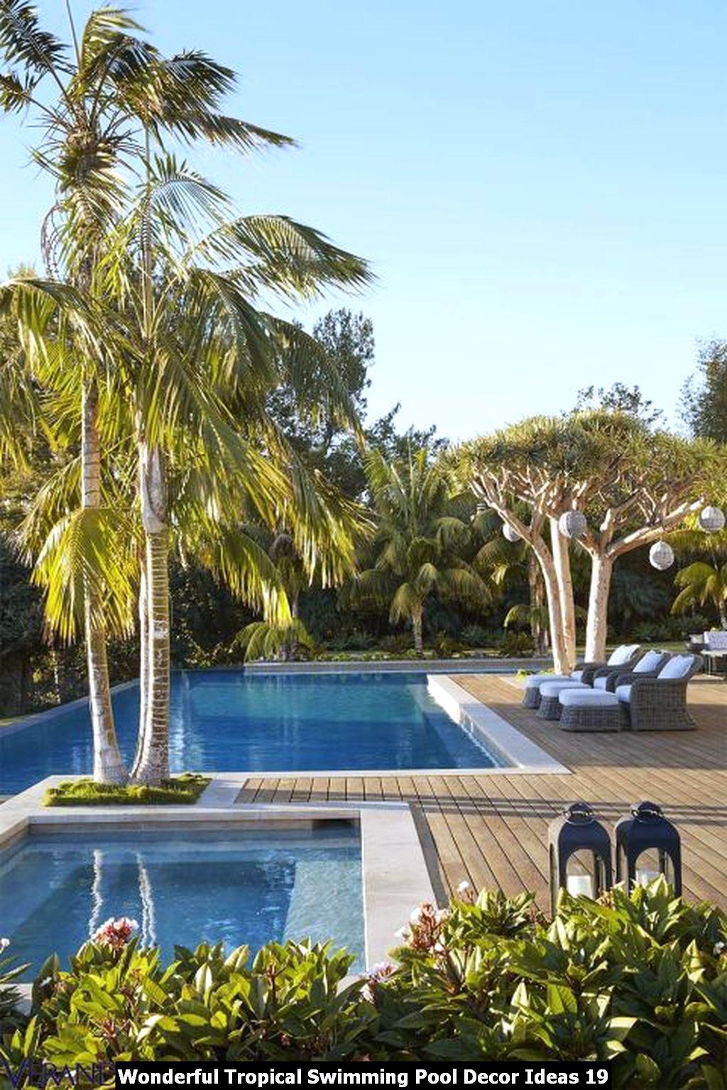 Wonderful Tropical Swimming Pool Decor Ideas 19
