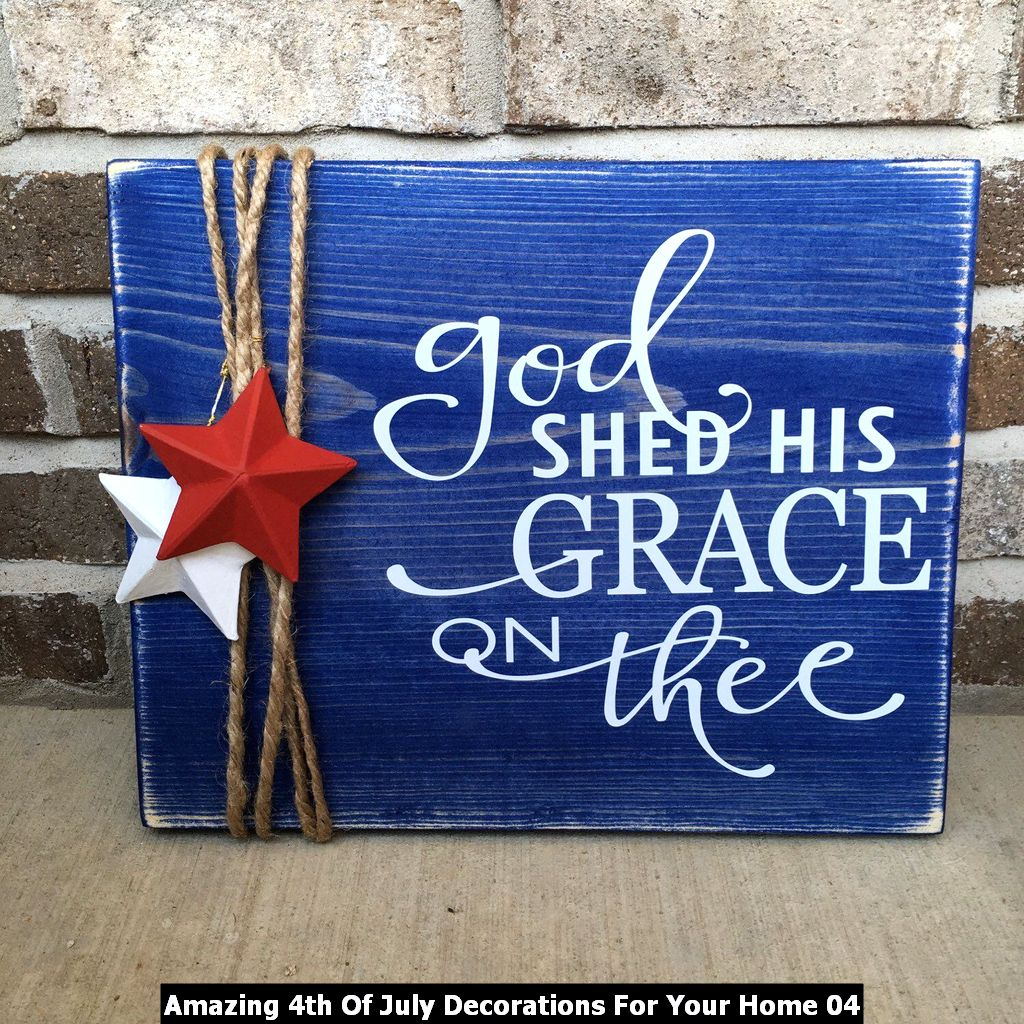 Amazing 4th Of July Decorations For Your Home 04