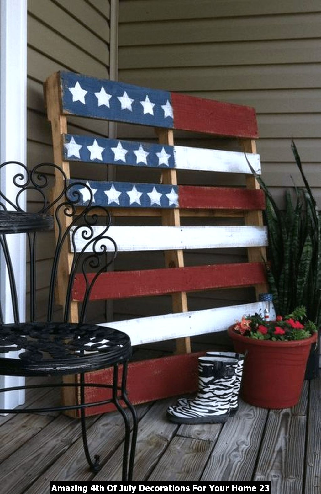 Amazing 4th Of July Decorations For Your Home 23