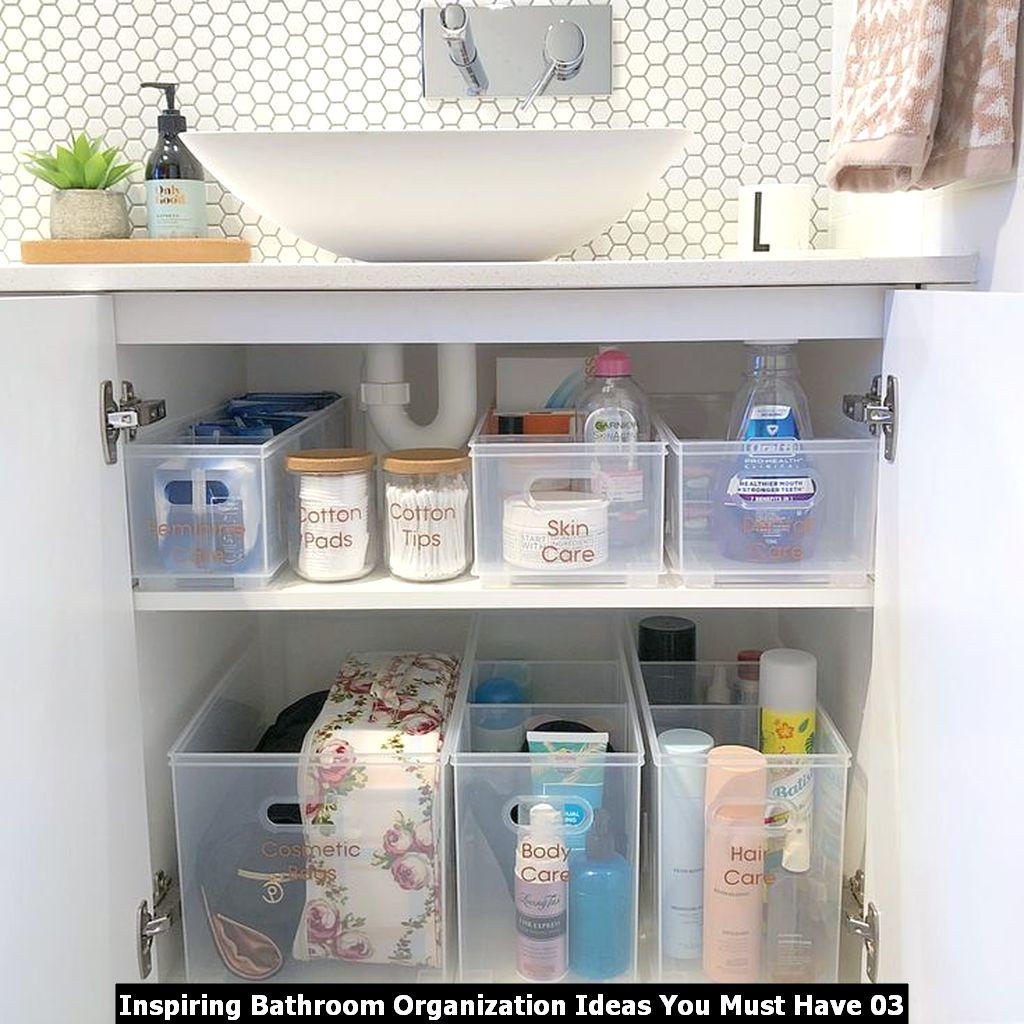 Inspiring Bathroom Organization Ideas You Must Have 03