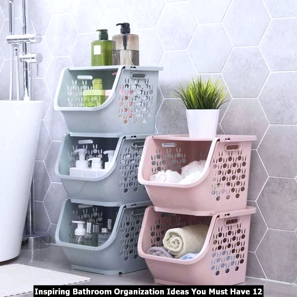 Inspiring Bathroom Organization Ideas You Must Have 12
