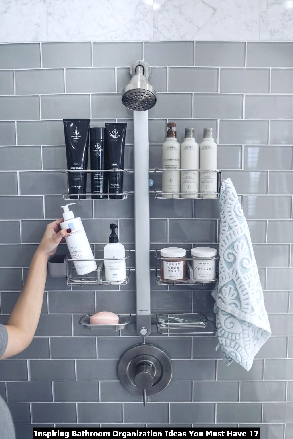 Inspiring Bathroom Organization Ideas You Must Have 17