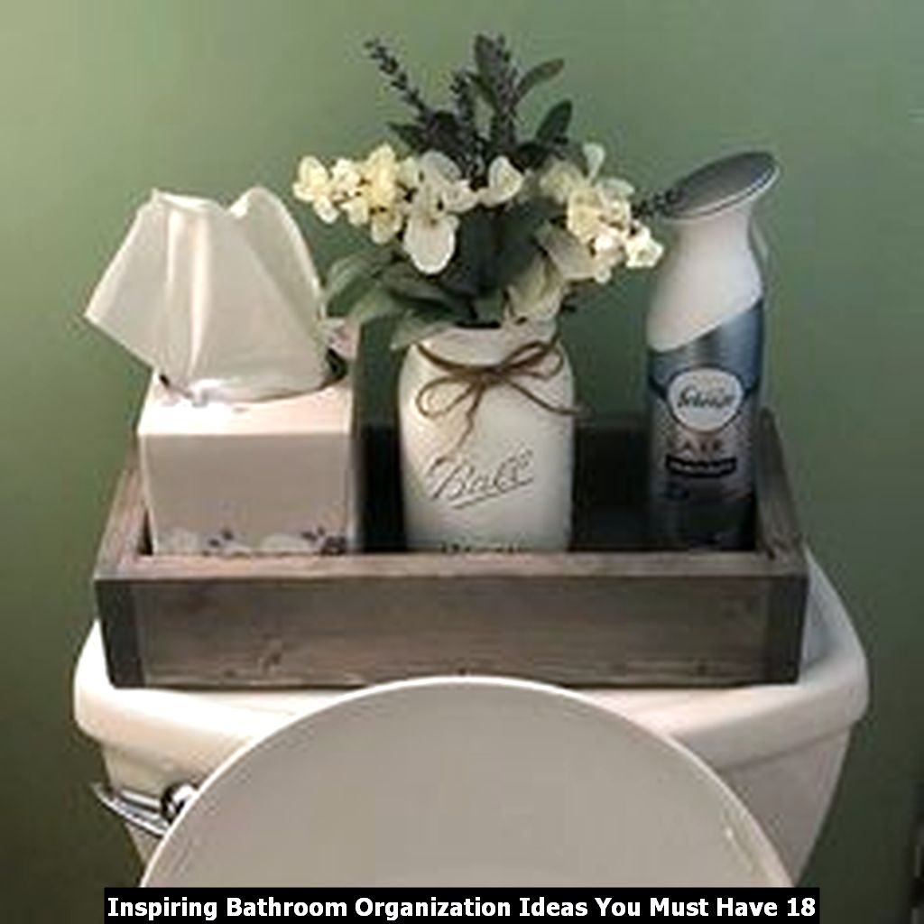 Inspiring Bathroom Organization Ideas You Must Have 18