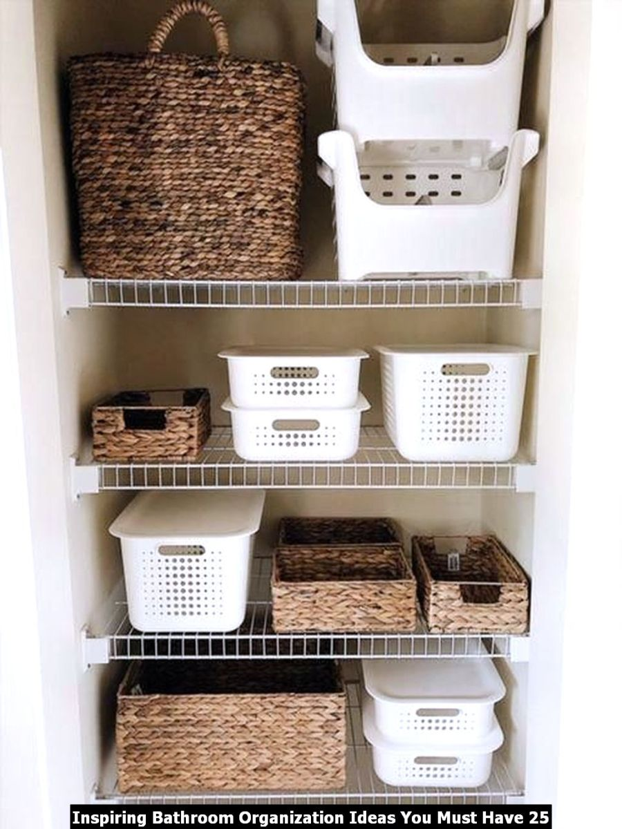 Inspiring Bathroom Organization Ideas You Must Have 25