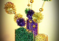 DIY Mardi Gras Decorations
