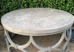 Round Outdoor Side Table