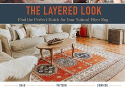 Layered Rugs Living Room