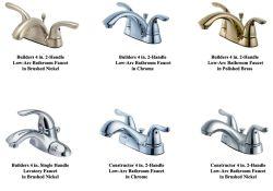 Glacier Bay Bathroom Faucets