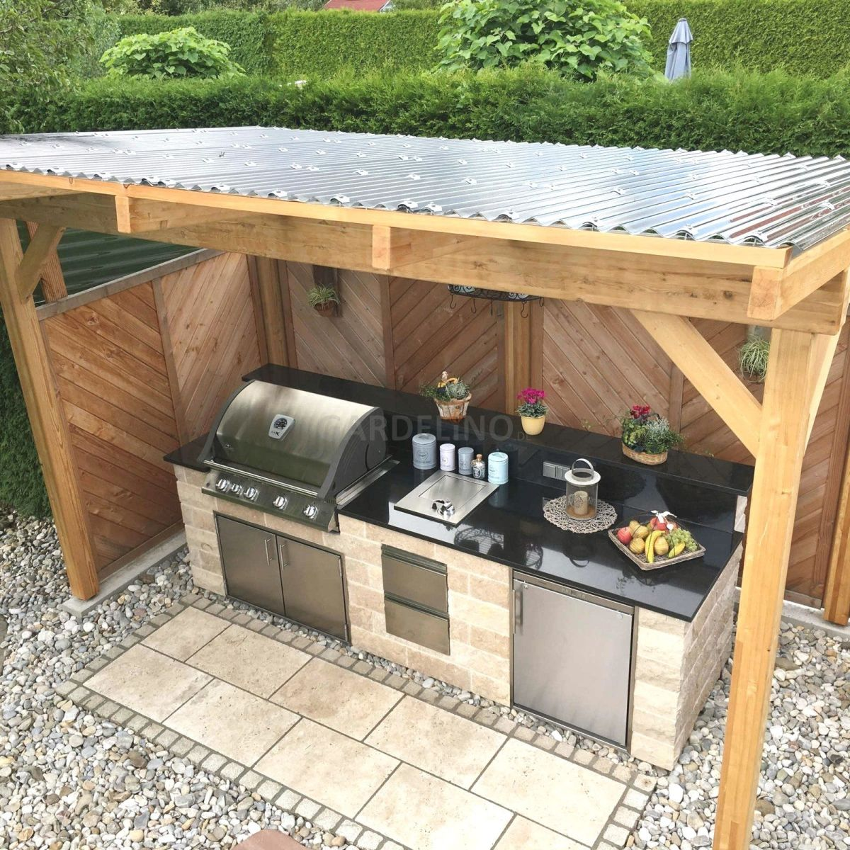 Outdoor Grilling Station Ideas