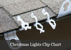 Outdoor Christmas Light Hooks