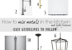 Mixing Metals In Kitchen