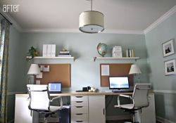 Home Office With 2 Desks