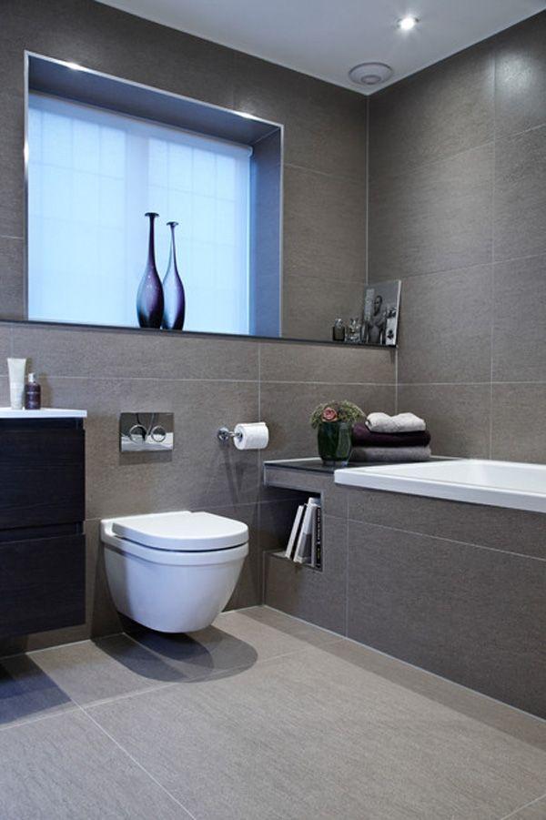 Gray Bathroom Tile Ideas