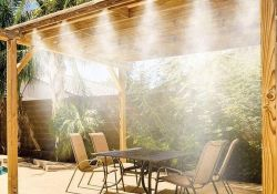 Outdoor Mist Cooling System