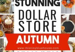 Dollar Store DIY Fall Decor