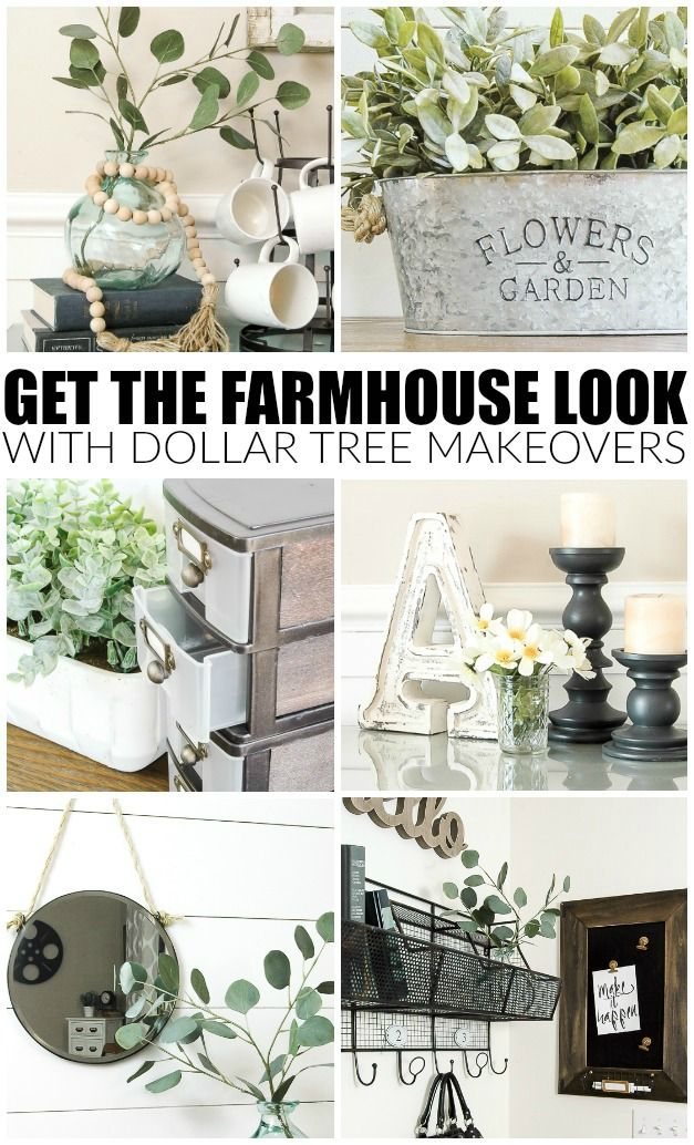 DIY Farmhouse Decor Dollar Tree