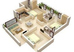 Low Budget Modern 3 Bedroom House Design