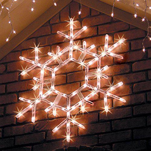 Snowflake Outdoor Christmas Lights