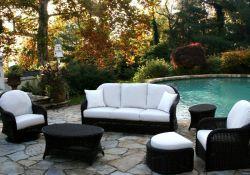 Black Wicker Patio Furniture