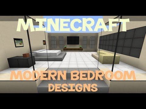 Minecraft Modern Bedroom