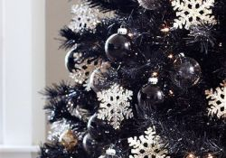 Black Christmas Tree Ideas