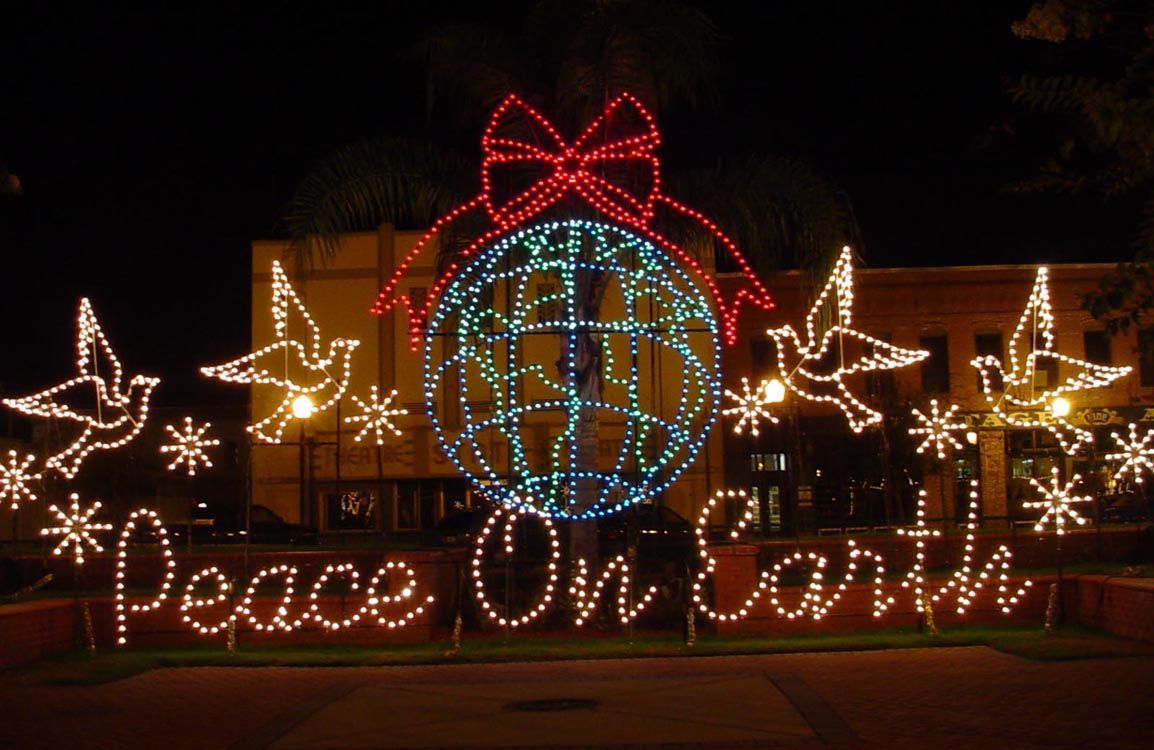 Commercial Outdoor Christmas Decorations