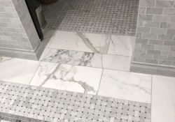 Mosaic Bathroom Floor Tiles